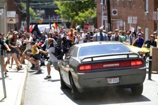 Car Slams into Crowd at White Nationalist Rally in Va. Killing 1, Injuring 19