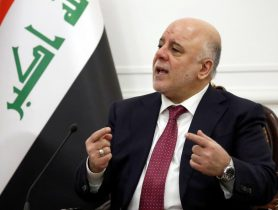 Iraqi PM says 'will not wait forever' to take action on border areas