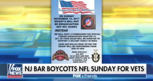 One Bar Dumped the NFL on Veterans Day and The Community Responded in a BIG Way