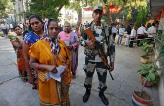 Indian ruling party in tough election fight in Modi's home state, vote count shows