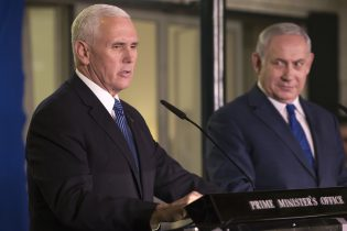 VP Pence: Israel Most Cherished U.S. Ally, Bright Future Ahead
