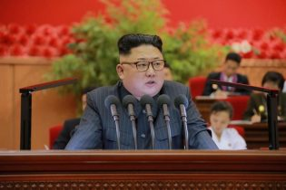 North Korea condemns U.S. sanctions as officials gather for Olympic ceremony