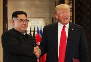 North Korea highlights Trump concessions on war games after summit