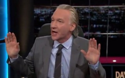Bill Maher Takes Liberal 'Resistance' Schtick to Unforgivable New Level