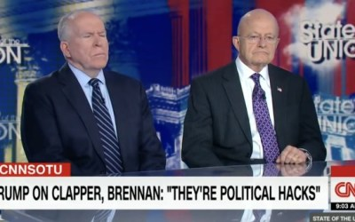 UNTHINKABLE: Deep State hack John Brennan dog whistles INTEL community: 'May start withholding info from POTUS Trump'
