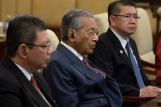 Malaysian PM Mahathir says China-backed rail, pipeline projects canceled for now: reports