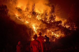 Firefighter Dies Battling Mendocino Complex Fire in Calif.