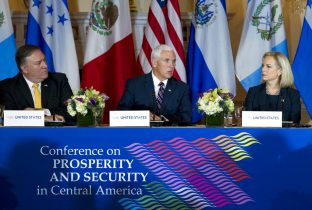Pence outlines dangers of mass migration