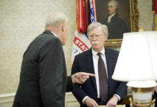 WH Downplays Reports Of Heated Exchange Between Kelly, Bolton