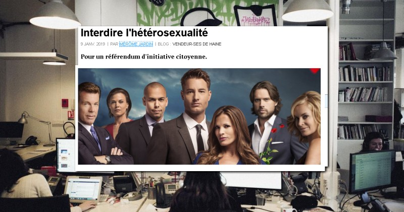 Leftist French Website Calls For Heterosexuality to be Banned