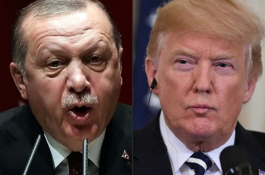 Turkey hits back at Trump threats over Kurds