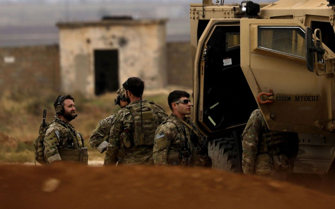 No U.S. Troops Have Yet Been Withdrawn From Syria, Pentagon Says