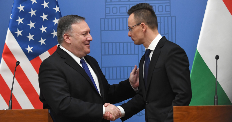 Pompeo Seeking to Woo Hungary From Russia, China