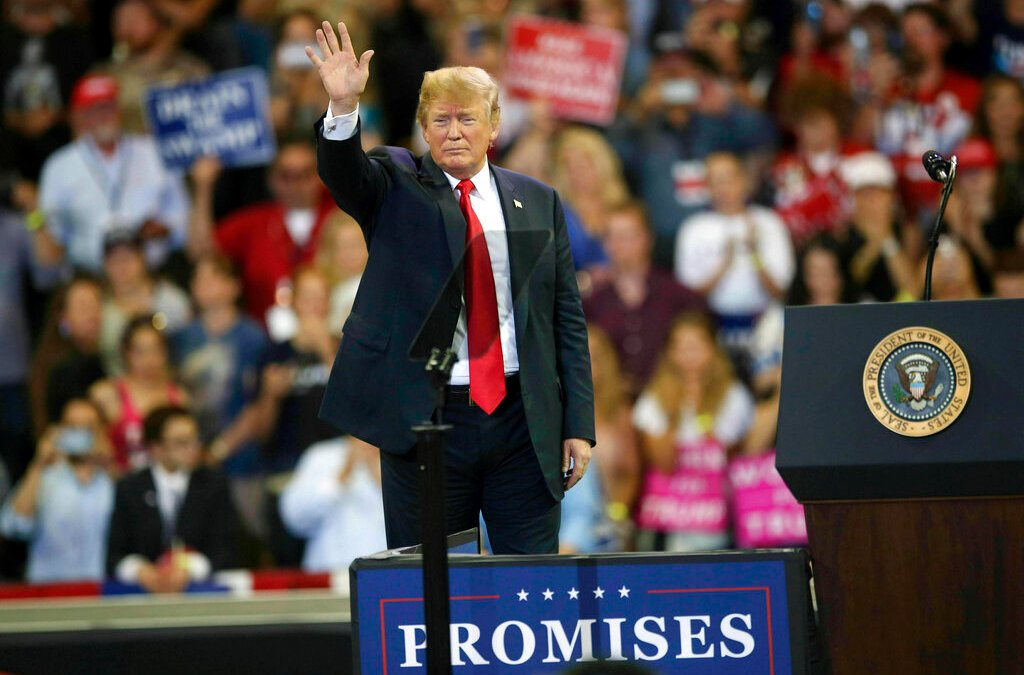 Trump campaign raises $30M, more than Sanders ($18.2m) & O'Rourke ($9.4m) combined