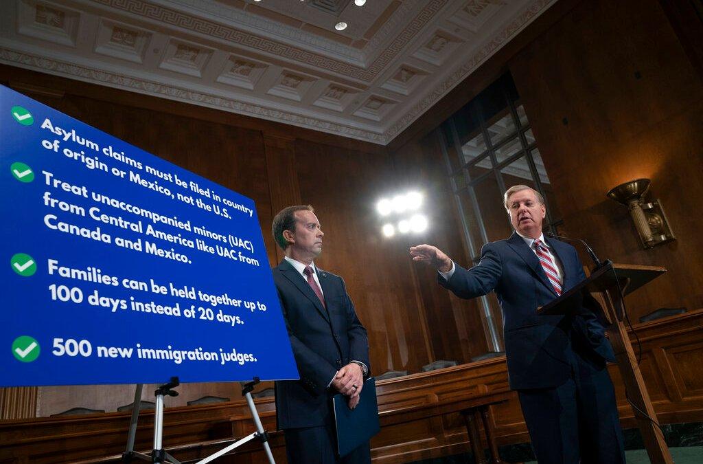 Sen. Graham unveils plan to combat immigration crisis at southern border