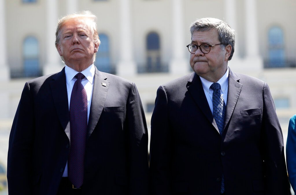 Attorney General Barr review on Russia probe to focus on intelligence gathering actions