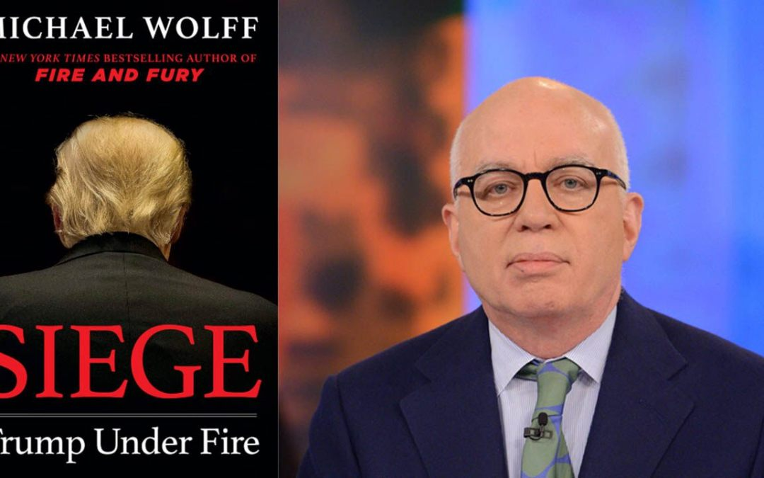 Michael Wolff releasing 'Fire and Fury' sequel portraying Trump as 'increasingly volatile'
