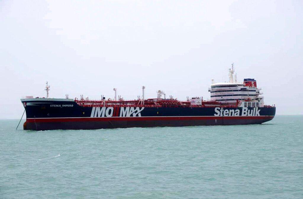 Iran reveals new footage of seized British tanker