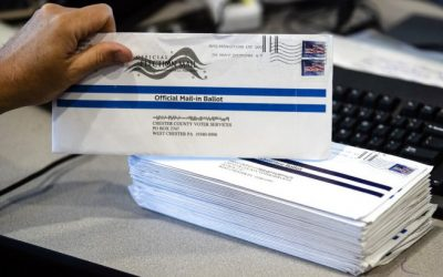President Trump slams mail-in voting as a 'scam,' says it will be 'a disaster'