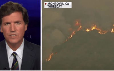 Tucker Carlson asked two questions that sent Barack Obama running for his life
