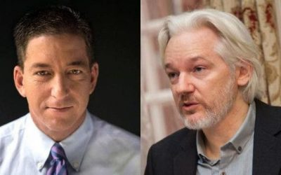 Glenn Greenwald Shocks With Explanation On Why Mainstream Media Is Ignoring Assange Trial