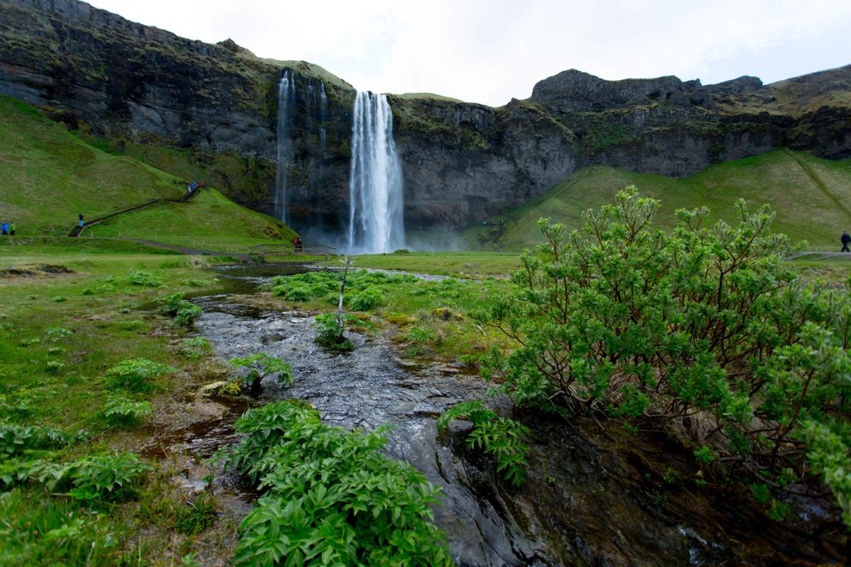 Seljalandsfoss - summer