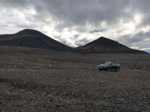 On Hrunamannaafréttur trail