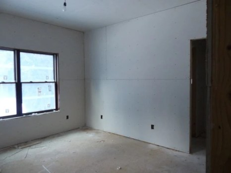 Interior drywall