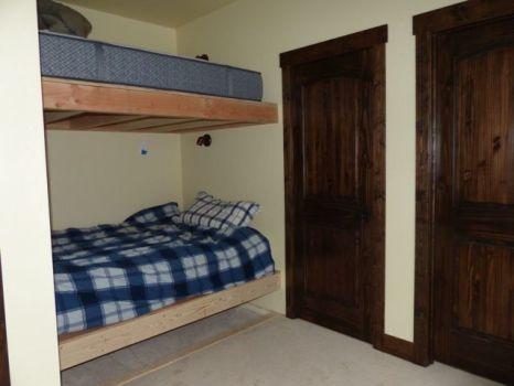 Double bunks in Bunk room