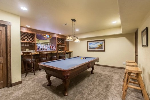 The Rec Room Pool Table