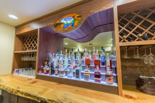 The Rec Room Bar with Local Spirits