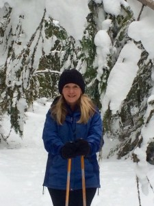 Me in the snow
