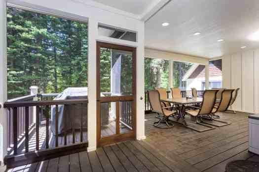 13- Screened porch dining area- Trevon Baker 10