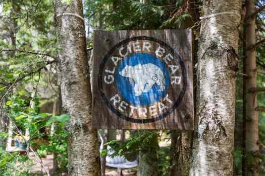 14- Glacier Bear Retreat Entry Sign- Max Elman 10