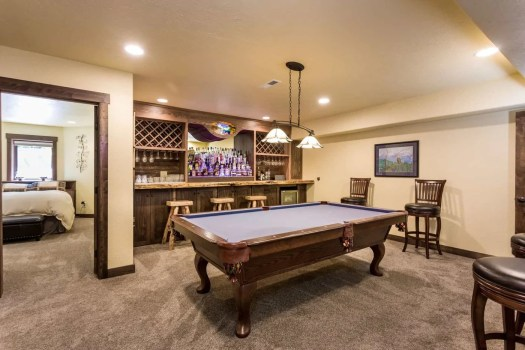 9- Recreation Room with pool table and bar 8