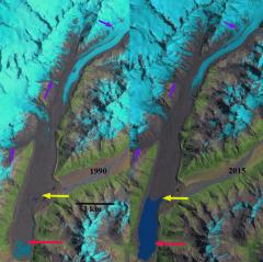 Tasman Glacier, NZ