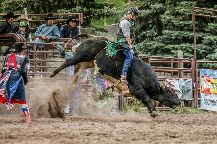 June 20 Rodeo Brash Rodeo Glacier Country