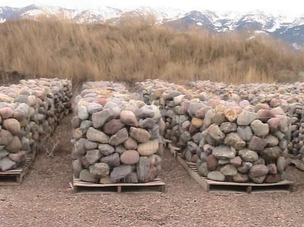 decorative landscape rock - glacier