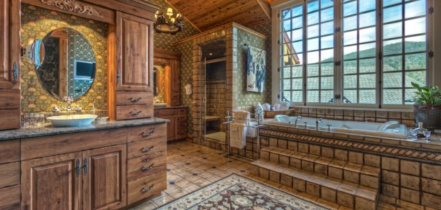 Avalanche Ranch Master Bathroom