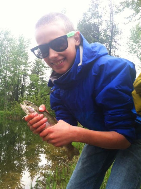 youth fly fishing