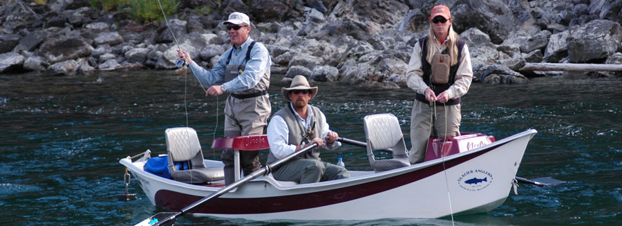 glacier national park fishing, full-day guided trips