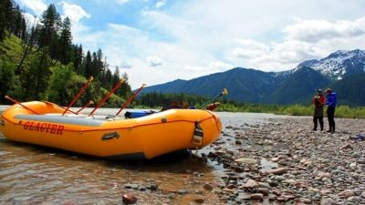 White water rafting in montana, glacier raft company