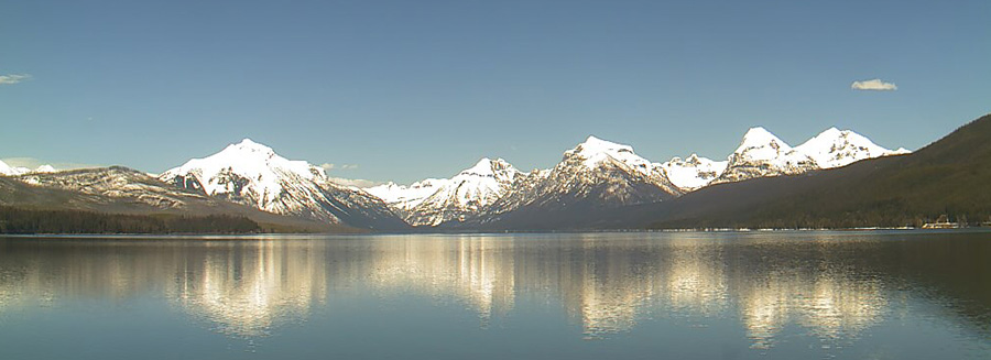 Webcam view of Lake McDonald in Glacier National Park