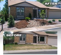 Before and After Photos  Glacier View Landscape and ...