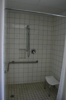 Handicap-Accessible Shower Stalls