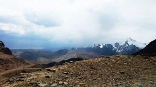Masyw Huayna Potosi (6088 m) widziany ze stoków Chacaltaya. Fot. J. Małecki