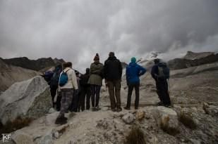 Pod Huayna Potosi. W drodze na lodowiec Zongo (Glaciar Zongo). Fot. T. Kurczaba