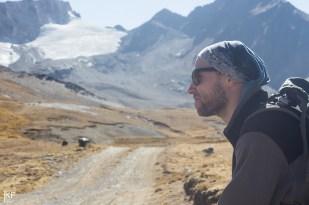 W drodze na lodowiec Charquini Sur. Fot. T. Kurczaba