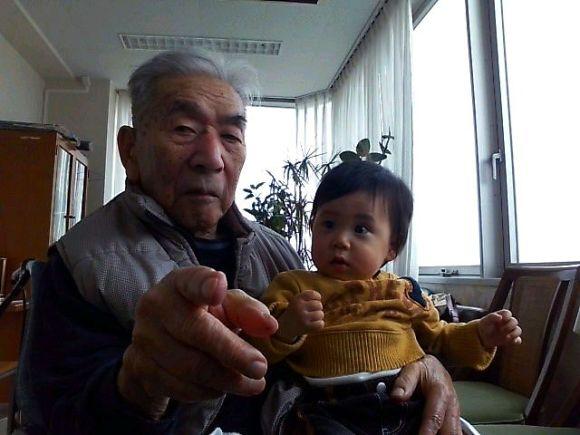 祖父のいる老人ホーム
