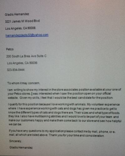 Say Body Email Sending Resume Cover Letter